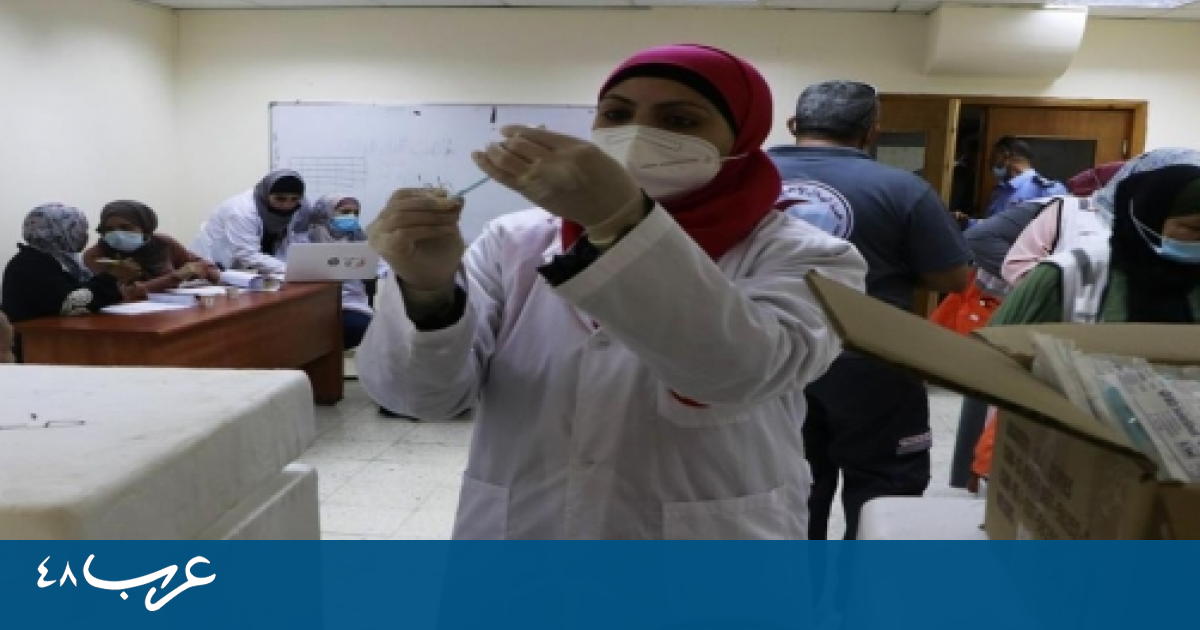 الصحة الفلسطينية: حالة وفاة و620 إصابة جديدة بكورونا