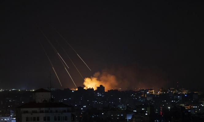 جيش الاحتلال يقصف مواقع في قطاع غزة