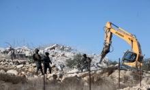 الاحتلال يهدم منزلا بالولجة وكراجا بالخليل