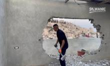 الاحتلال يُجبر عائلة مقدسية على هدم منزلهافي سلوان