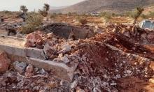 الاحتلال يهدم 5 منازل ومنشآت زراعية بالضفة