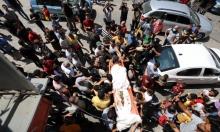 غزة: تشييع جثمان الشهيد صالحفي جباليا