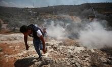 5 إصابات برصاص الاحتلال شمالي الضفة