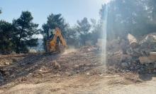 القدس: الاحتلال يجرف صرح الشهداء العرب بالمقبرة اليوسفية