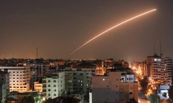 القبة الحديدية الإسرائيلية تعترض صاروخا أُطلق من غزة باتجاه سديروت