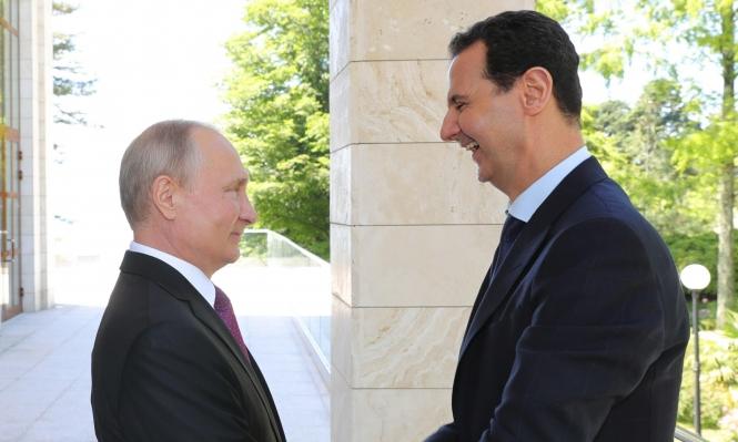بوتين يستقبل الأسد بموسكو: مشكلة سورية هي القوات الأجنبية