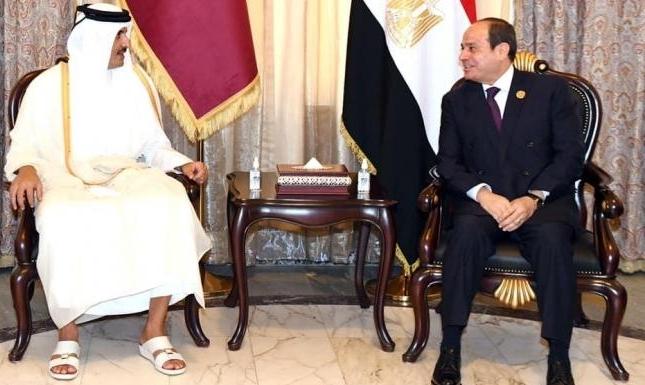 """مصر وقطر تعلنان التوصل إلى اتفاقبشأن """"عدة مسائل"""""""