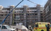 مصرع عامل بورشة بناء وسط البلاد