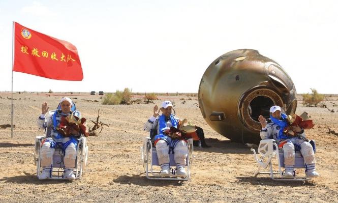 أطول مهمة صينية في الفضاء: عودة الرواد إلى الأرض