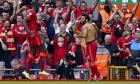 ماذا قال محمد صلاح للجمهور بعد فوز ليفربول؟