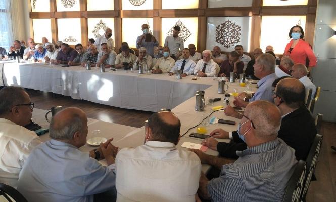 لجنة المتابعة تستقبل وفدا مقدسيا في الناصرة