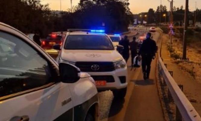 اعتقال 11 عاملا من الضفة ومزاعم بتورط بعضهم بدهس الشرطي في نهريا