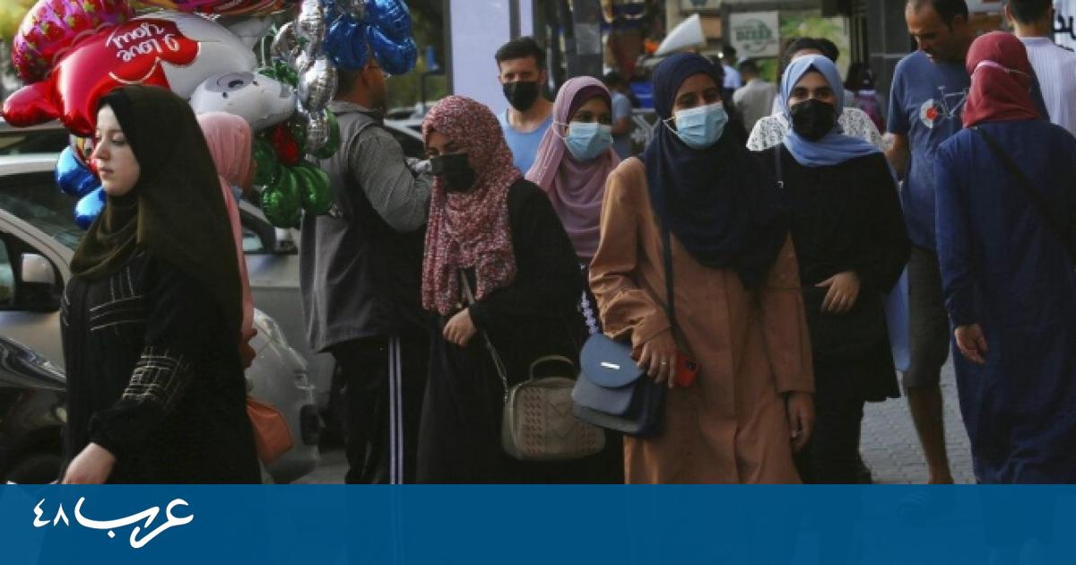 كورونا في غزة: 12 وفاة و1745 إصابة خلال يوم