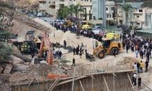 إصابات خطيرة إثر انهيار جدار على عمال بكفر كنا