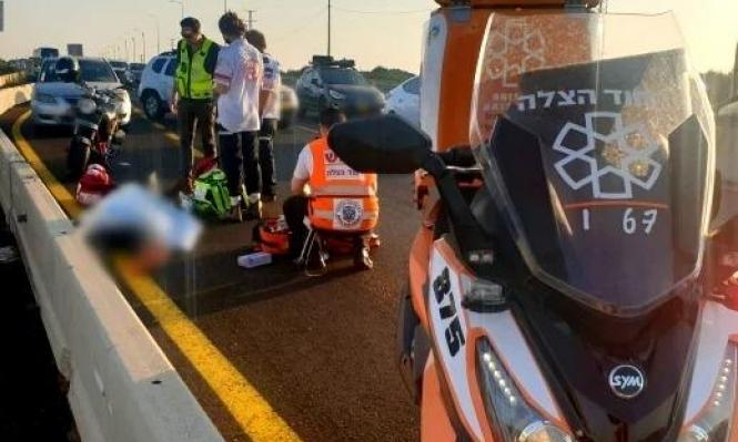 زلفة: مصرع  غانم جبارين في حادث سير على شارع الشاطئ