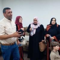 الأسيرة المحررة نسرين أبو كميل حسن تدخل غزة وتلتقي أسرتها