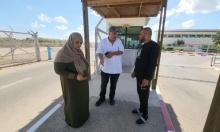 الأسيرة المحررة نسرين أبو كميل حسن تدخل إلى غزة