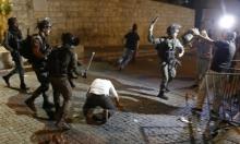 إصابات واعتقالات في اعتداءات الاحتلال على المقدسيين في باب العامود