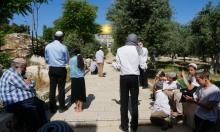 صلوات صامتة للمستوطنين بالأقصى واعتقالات بالضفة