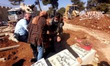 الاحتلال يواصل التجريف وطمس المقبرة اليوسفية